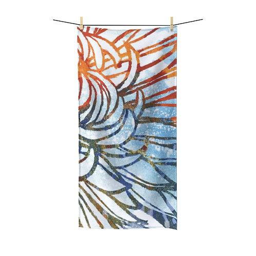 Petals Polycotton Towel