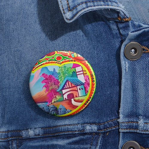 Sweet Home - Pin Buttons