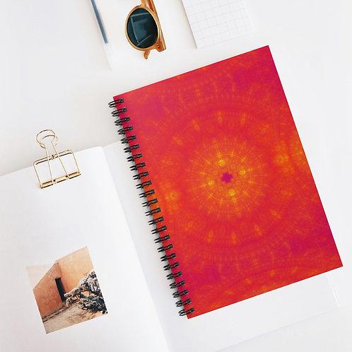 Sun - Spiral Notebook - Ruled Line