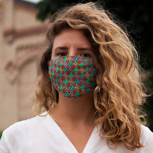 Bloom - Snug-Fit Polyester Face Mask