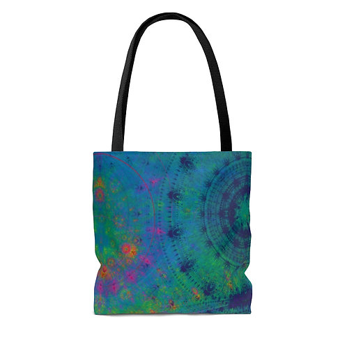 Spectrolite - Fractal Design AOP Tote Bag