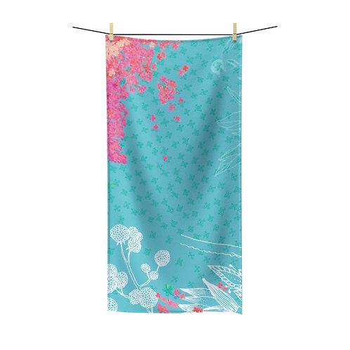 Secret Garden Polycotton Towel