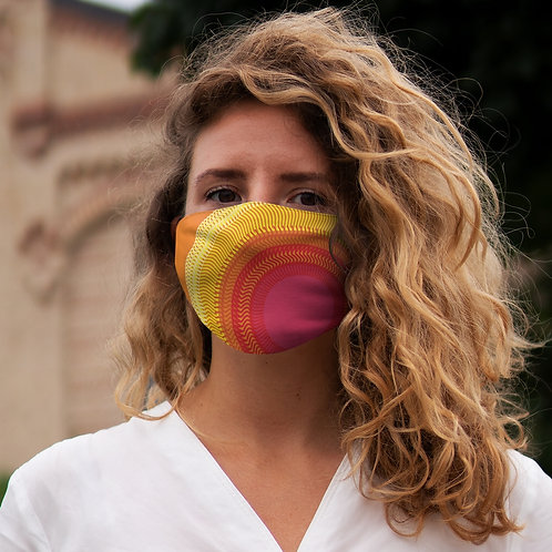 Planet Sun - Snug-Fit Polyester Face Mask