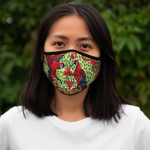 Parrots - Fitted Polyester Face Mask