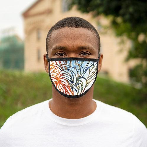 Petals - Mixed-Fabric Face Mask