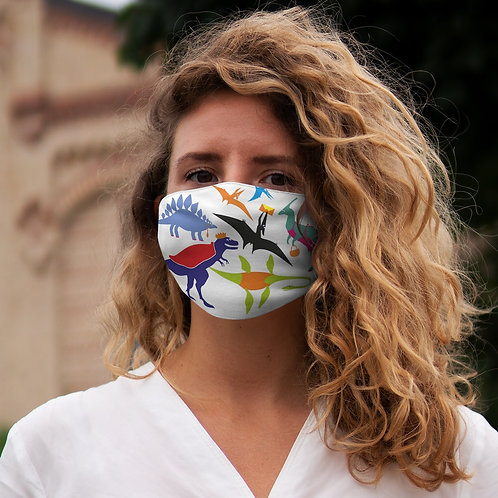 Dino - Snug-Fit Polyester Face Mask