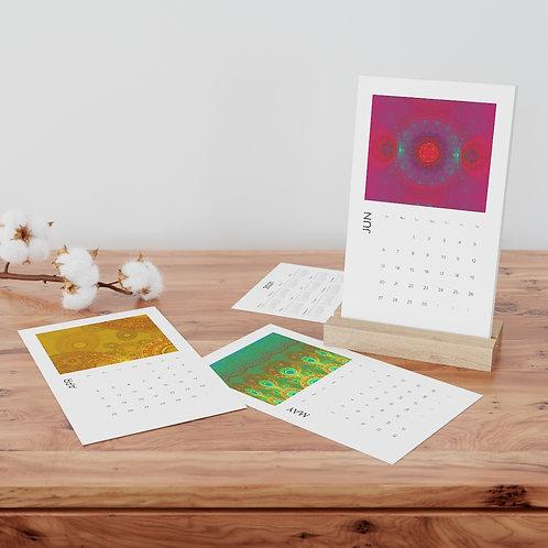 Nature's Mathematics - Vertical Fractal Art Desk Calendar