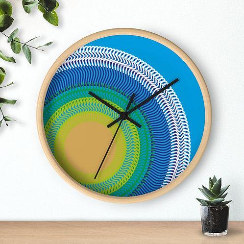 Planet Earth - Wall clock