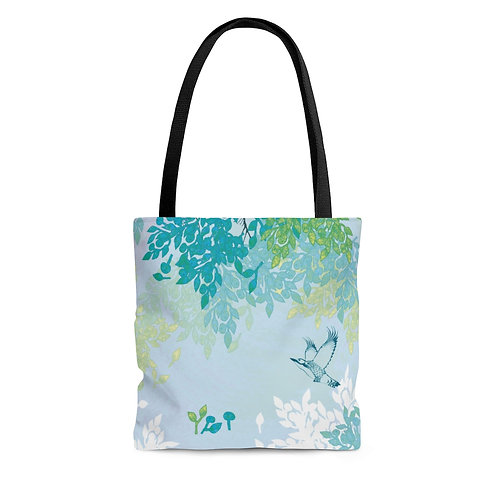 White Night - AOP Tote Bag