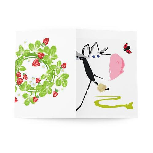 Ammuu! - Greeting Cards (8 pcs)