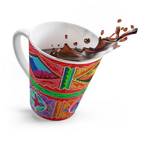 Sunset - Latte mug