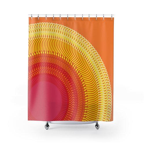 Planet Sun - Shower Curtains
