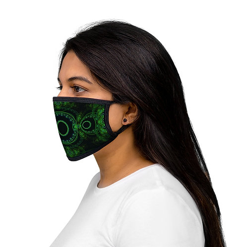 Forest - Mixed-Fabric Face Mask
