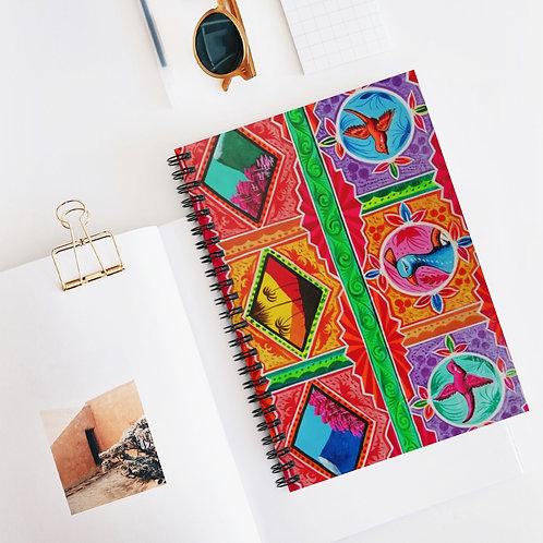 Sunset - Spiral Notebook - Ruled Line