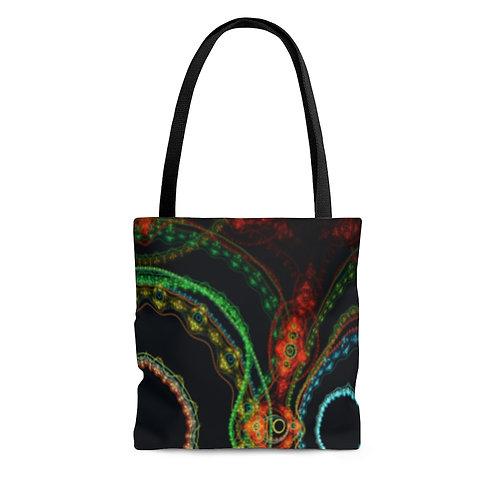 Taiga - Fractal Design AOP Tote Bag