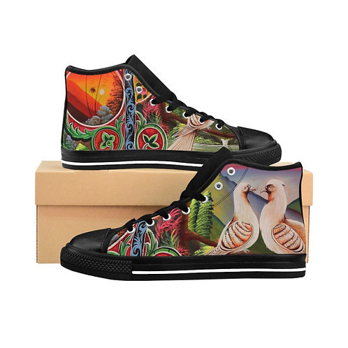 Lovey Doves - Women's High-top Sneakers