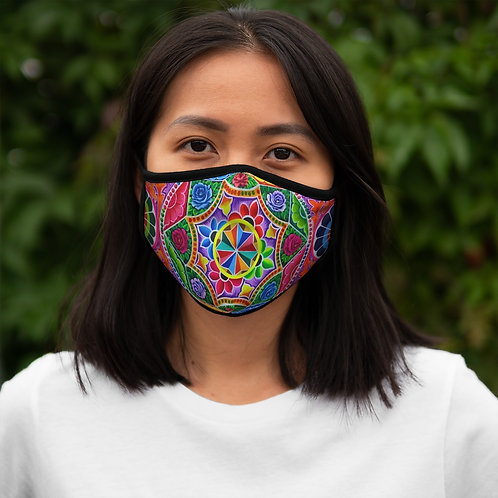 Carousel - Fitted Polyester Face Mask