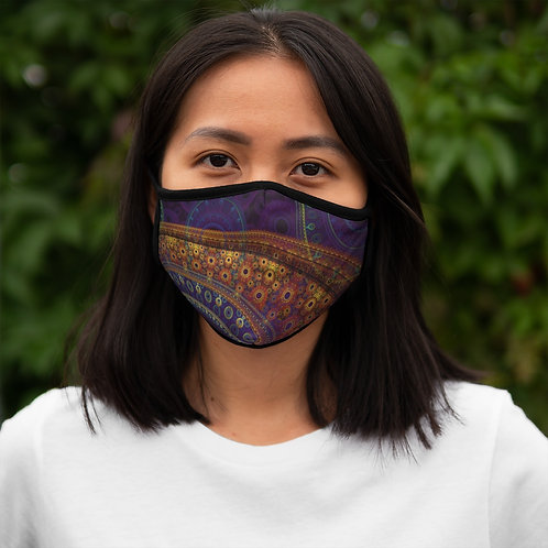 Aurora - Fitted Polyester Face Mask