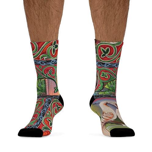 Lovey Doves - DTG Socks