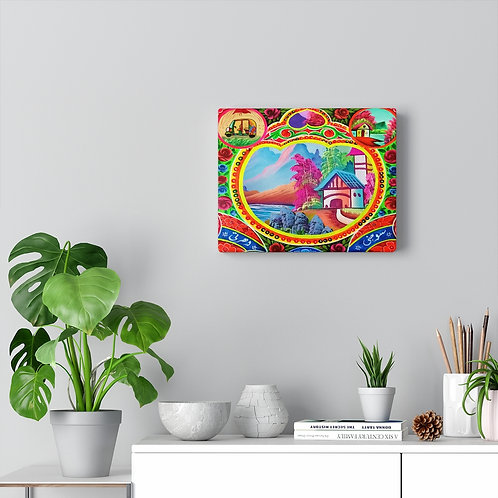 Sweet Home - Canvas Gallery Wraps