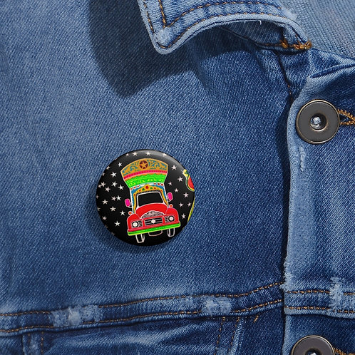 Star Driver - Pin Buttons