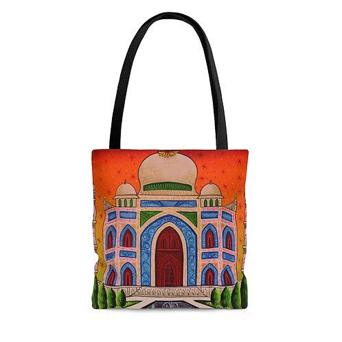 Taj Mahal - AOP Tote Bag