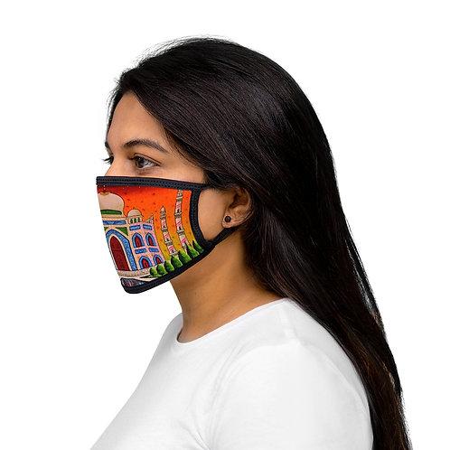 Taj Mahal - Mixed-Fabric Face Mask