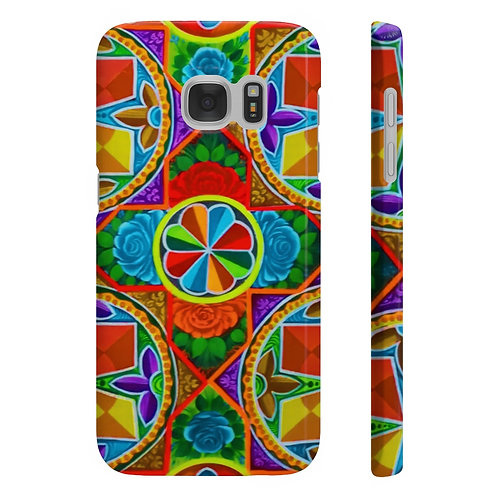 Orange Propeller - Wpaps Slim Phone Cases