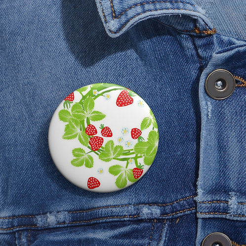 Strawberry Garland - Pin Buttons