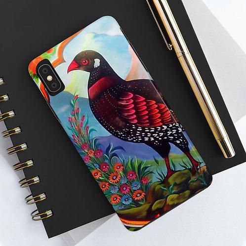 Black Partridge - Case Mate Tough Phone Cases
