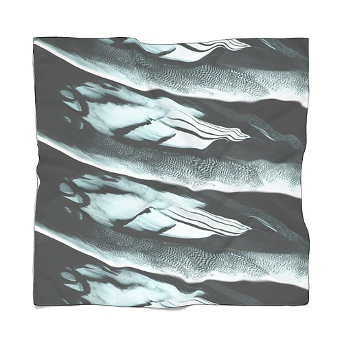 Feathers Poly Scarf