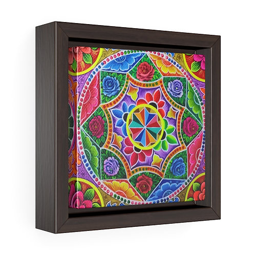 Carousel - Square Framed Premium Gallery Wrap Canvas