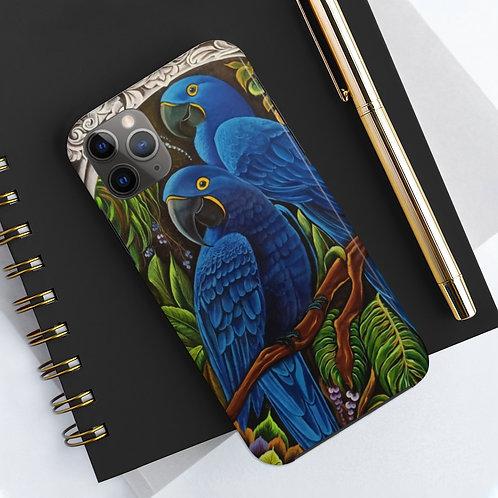 Blue Macaw - Case Mate Tough Phone Cases
