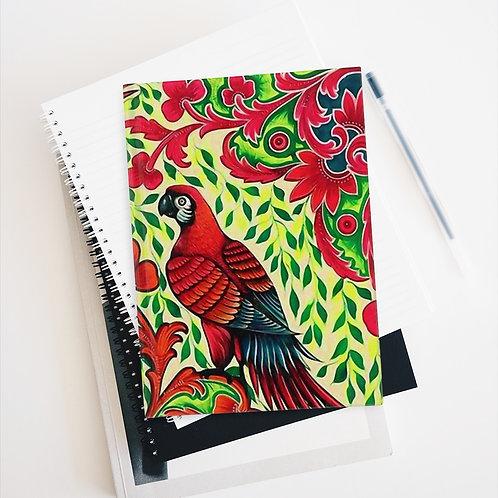 Parrots - Journal - Ruled Line