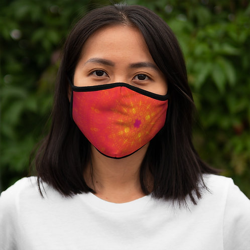 Sun - Fitted Polyester Face Mask