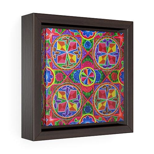Propeller - Square Framed Premium Gallery Wrap Canvas