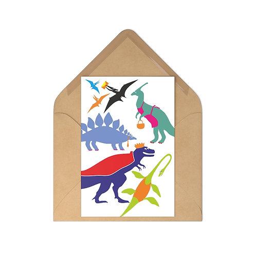 Dino - Postcards (7 pcs)