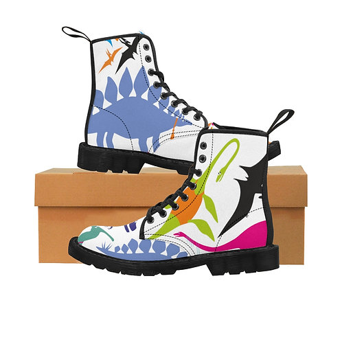 Dino - Men's Canvas Boots