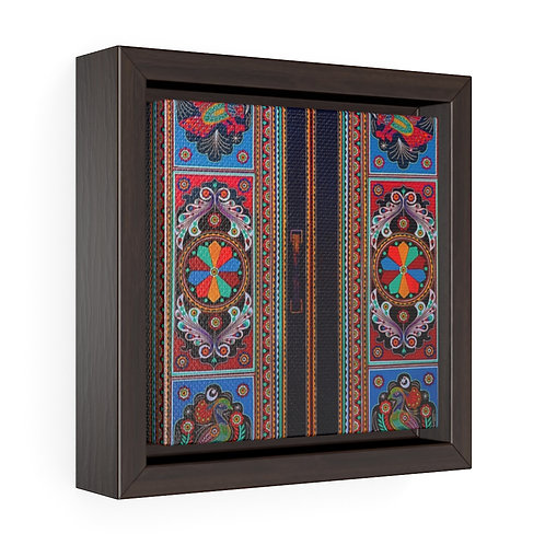 Doors - Square Framed Premium Gallery Wrap Canvas