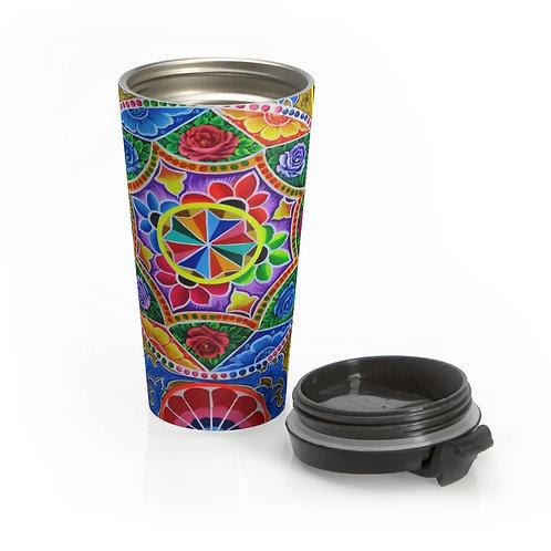 Carousel - Stainless Steel Travel Mug