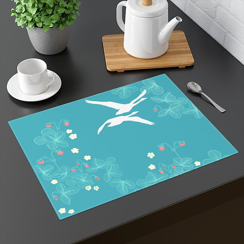 Strawberry Swans - Placemat