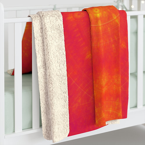 Sun Sherpa Fleece Blanket