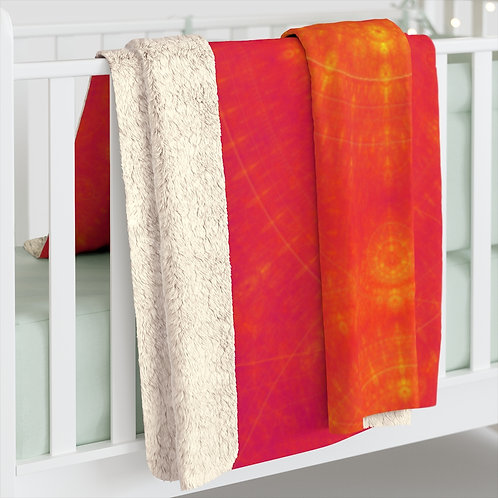 Sun - Sherpa Fleece Blanket