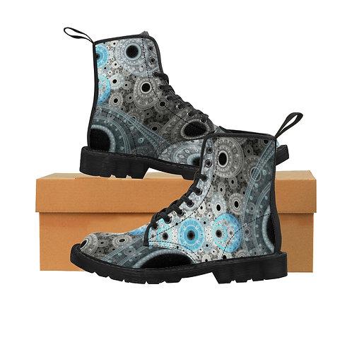 Cliff - Women's Canvas Boots
