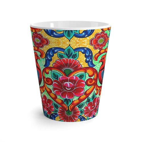 Red Birds - Latte mug