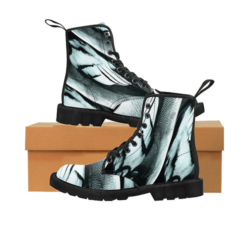 Feathers - Women's Canvas Boots