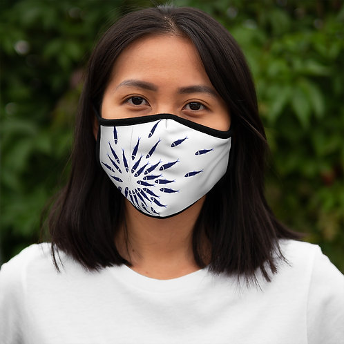 Little Fish - Fitted Polyester Face Mask