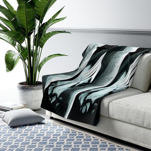 Feathers - Sherpa Fleece Blanket