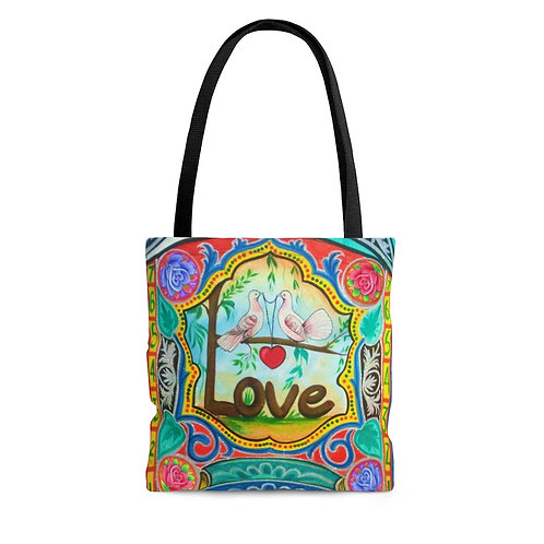 Love - AOP Tote Bag