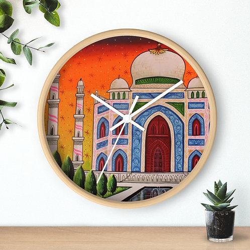 Taj Mahal - Wall clock